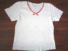 Krásné bílé bavlněné tričko - xl/xxl, xl