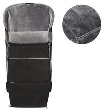 Emitex fusak combi 3v1 velvet - černý/šedý, emitex