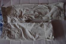 Plátěne kalhoty/kraťse, h&m,92