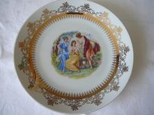 Dekorativní talíř,