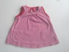 Bavlněné šaty/tunika proužkatá, matalan,62
