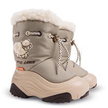 Dětské sněhule s ovčí vlnou demar akce, demar,22