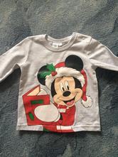 Tričko vánoční mickey mouse, disney,86