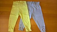 Bavlněné kalhoty, vel. 86/92 - sada, lupilu,86