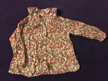 Květovaná košilka, h&m,68