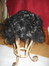 Paruka čert maska kostým obvod 52-58 cm,