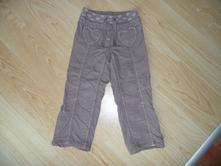 Dívčí plátěné kalhoty s podšívkou vel.104, next,104