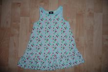 Třešničkové šaty 98/104, h&m,98