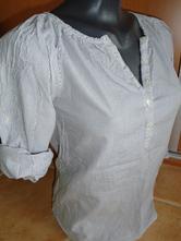 1772-košile s jemným proužkem 9-10 let hm, h&m,140