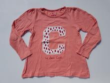G241dívčí triko s dlouhým rukávem 110-116, lupilu,110
