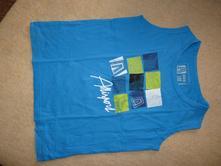 Tričko bez rukávů, 128