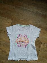 Bílé tričko lupilu, velikost 110 - 116, lupilu,110