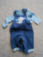 Kalhoty + body vel. 0-3 m, f&f,62