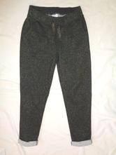 Luxusní černozlaté teplákové kalhoty, palomino,128