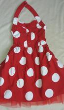 Šaty s puntíky, next,128
