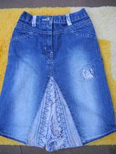 Riflová sukně, george,116