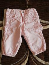 Kalhoty zateplené růžové, h&m,74