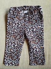 Kalhoty se zvířecím vzorem, h&m,74