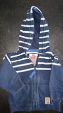 Mikina s kapucí na zip, next,74