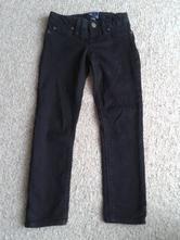 Černé džíny / kalhoty 116 - 122, gap,116