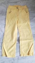 Plátěné kalhoty žluté, palomino,110