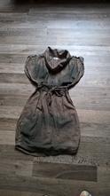 Zajímavé bavlněné šaty, xs