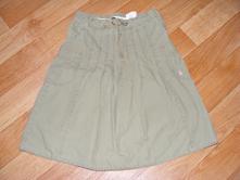 Olivová sukně vel. 128, h&m,128