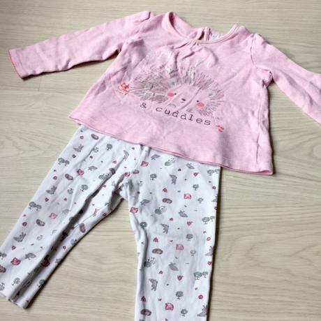Pyžamo pro holčičku dvoudílné, f&f,86