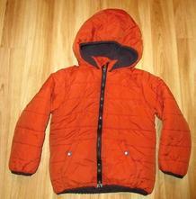Zimní bunda s kapucí, 116