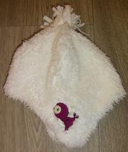 Zimní čepice s ptáčkem vel.6-12měs., f&f,80