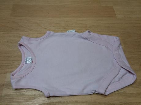 Body bez rukávů růžové next vel.newborn, next,56