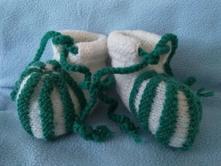 Pletené ponožky/botičky, 17