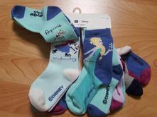 Ponožky 7 páru,frozen,gap, 2-3 roky anna, elsa, ol, gap