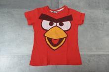 Tričko krátký rukáv angry birds, 104