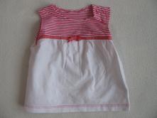 Letní dívčí šaty-vel.0-3 měs., mothercare,62