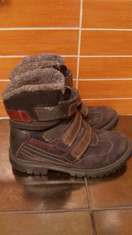 Kožené zimní boty 3afe84fe9d