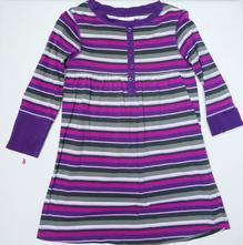 Pruhované bavlněné šaty, dopodopo,104