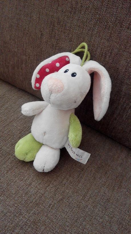 Plyšový králíček tilly,