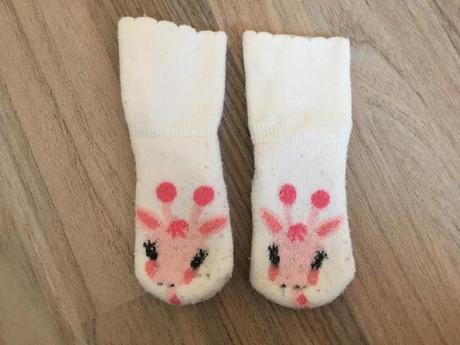 Žirafkové ponožky, h&m,62