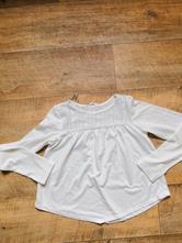 Bílé tričko ham, velikost 134 - 140, h&m,134