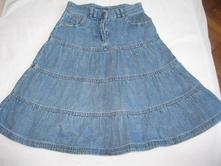 Riflová sukně, 122