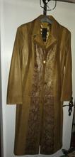 Kabát kožený podšívka vel s/m, m / s