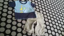 Set tričko a kalhoty vel. 62, f&f,62