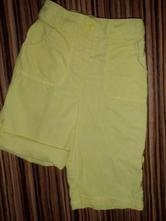 Nepřehlédnutelné žluté rolovací kalhoty, next,92