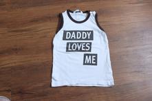 Tílko daddy loves me, 74
