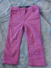 Kalhoty pro holčičky, basics,80