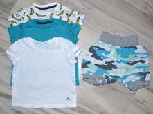 Set triček a kraťásků, f&f,80