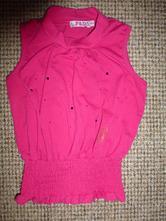 Růžová vesta s kamínky, 110