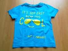 """Tričko s krátkým rukávem """"cool"""", f&f,104"""