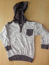 Tričko s dlouhým rukávem a kapucí, pepco,104